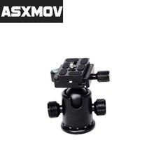 цена ASXMOV TP727 Alluminum Alloy Heavy Duty Panoramic Ball Head Tripod Head for Nikon Canon DSLR Camera Tripod Monopod