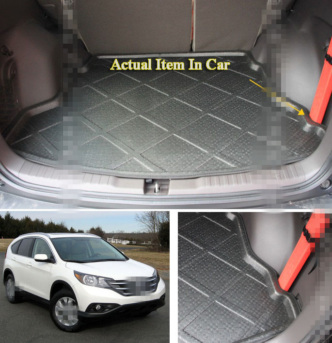 FIT FOR 2012 ~2016 HONDA CRV CR-V REAR TRUNK CARGO MAT LINER BOOT TRAY PROTECTORFIT FOR 2012 ~2016 HONDA CRV CR-V REAR TRUNK CARGO MAT LINER BOOT TRAY PROTECTOR