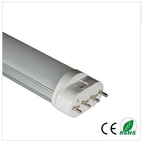 Milky white / transparent 22w 2g11 led tube light 535mm dimmable 2g11 4pin led PL lamp 2835SMD plug bulb AC85-265V 9w 10w smd led pl tube pl energy savin lamp 850lm ac100 240v clear