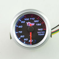 2 52 Mm 7 Colour Pointer Automotive Temporary Water Temperature Measuring Temperature Meter Auto Instrument Free