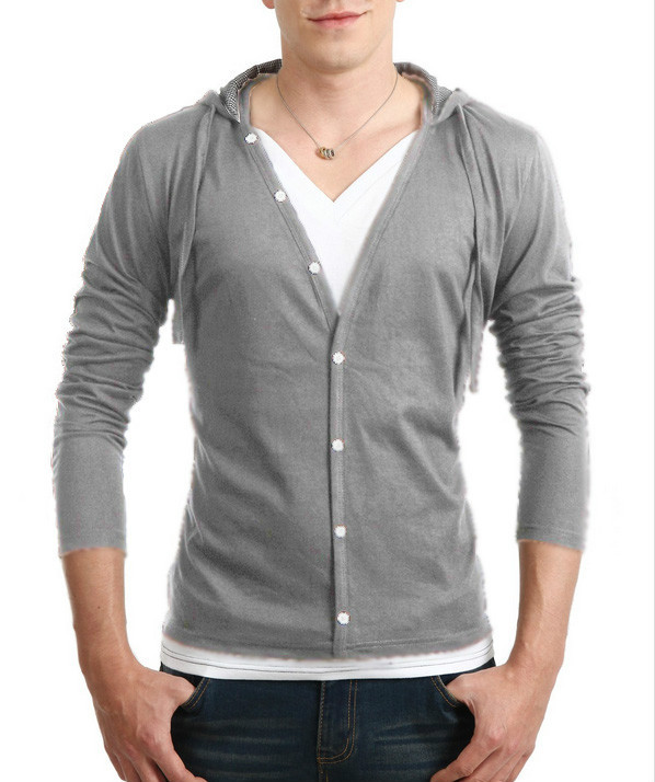 Cool Hooded Button Up Cardigan - DealBola.com