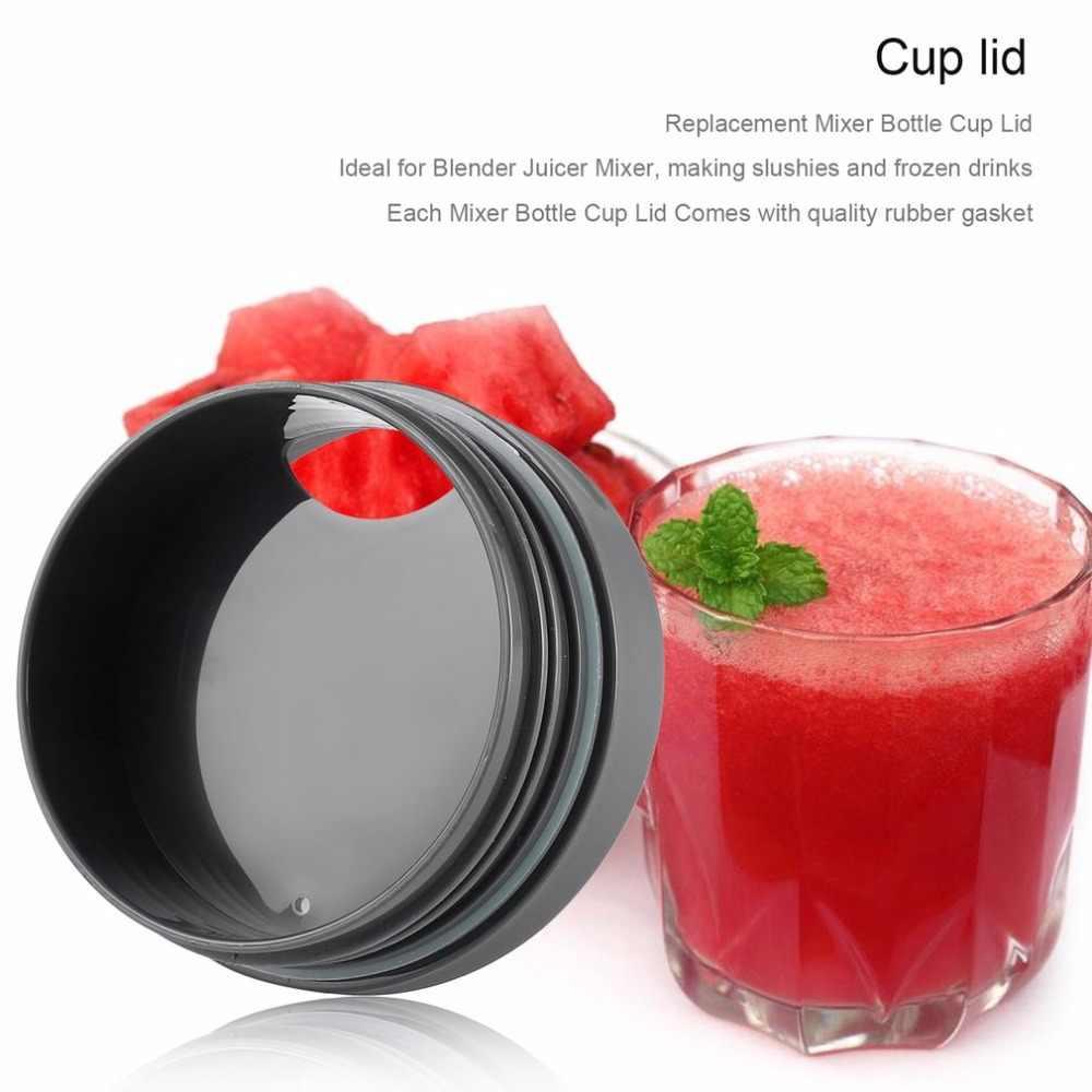 เครื่องคั้นน้ำผลไม้อะไหล่ถ้วยเปิดฝาปิดดีซีลแหวน Juicer สำหรับ NINJA + อุปกรณ์คั้นน้ำผลไม้ถ้วยแก้วใสสำหรับ Ninja16OZ ห้องครัว