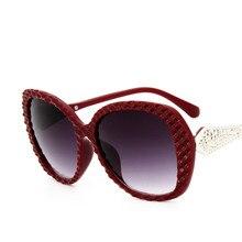 все цены на Oversized Square Sunglasses Fashion Women Designer Brand Large Lens Lady Black Sunglasses Women UV400 7 Color Spectacle Frame онлайн