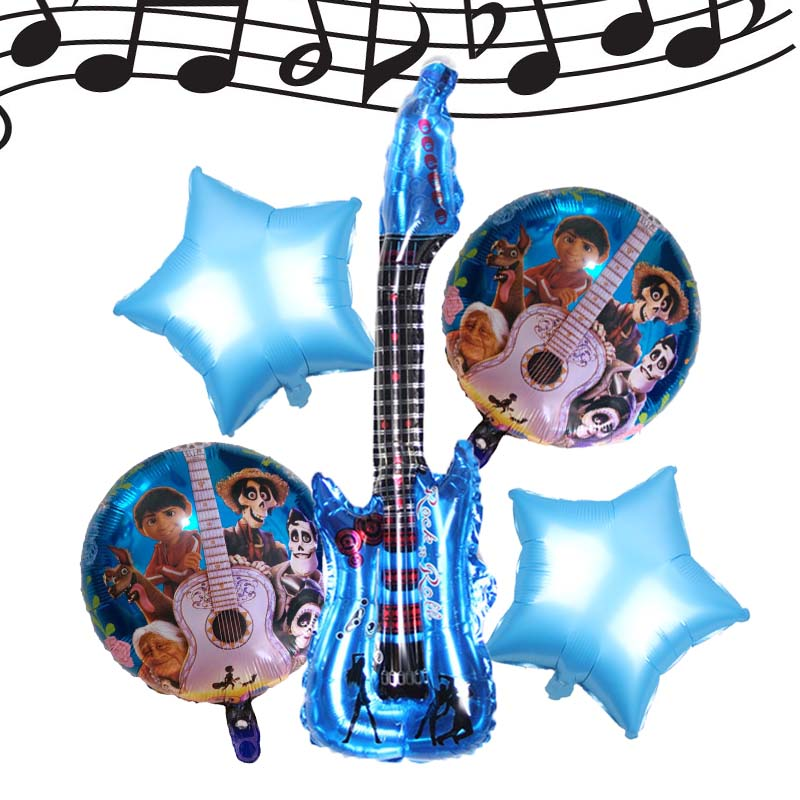 Ballons & Accessories 1pcs Party New Guitar Foil Balloon Toys For Children Birthday Party Decoration Balloon Wholesale