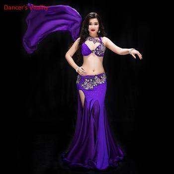 Profesional De Danza Vientre Trajes Conjunto 2 Del Rendimiento 885q1rzOw