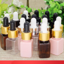10ML 30pcs 50pcs Plastic Square Cosmetic Essence Package, Wo
