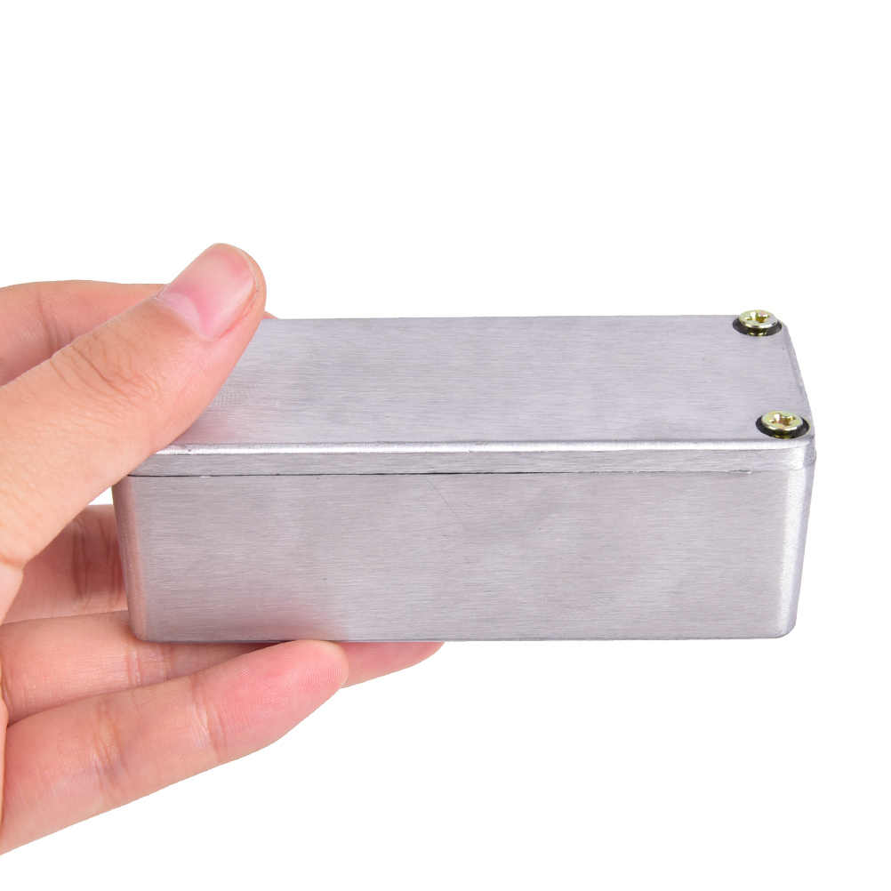 new Guitar Effects 1590A Die Cast Aluminum Box Stomp Effects Pedal Enclosure FOR Guitar 92*38*31mm