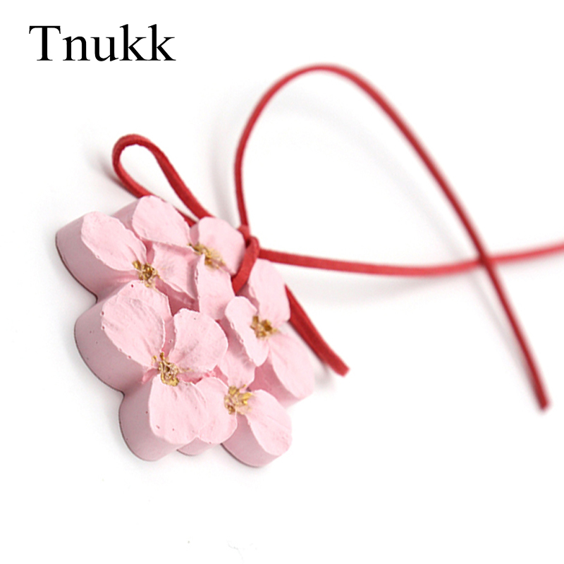 Tnukk Aromatherapy Gypsum Curtain Pendant Flower Carving Tassels Car Home Decor Chinese Style Curtain Lucky Tassels Ornament
