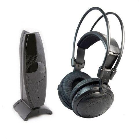 Fones de Ouvido-rf sem Fio Fones de Ouvido para Ipod Mp3 da Música do dj Ultra Baixo Discoteca Silenciosa Clube Pary Low