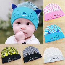 Cute Unisex Infant Baby Boy Girl Soft Cotton Beanie Hat Knitted Kids Winter Warm Cap