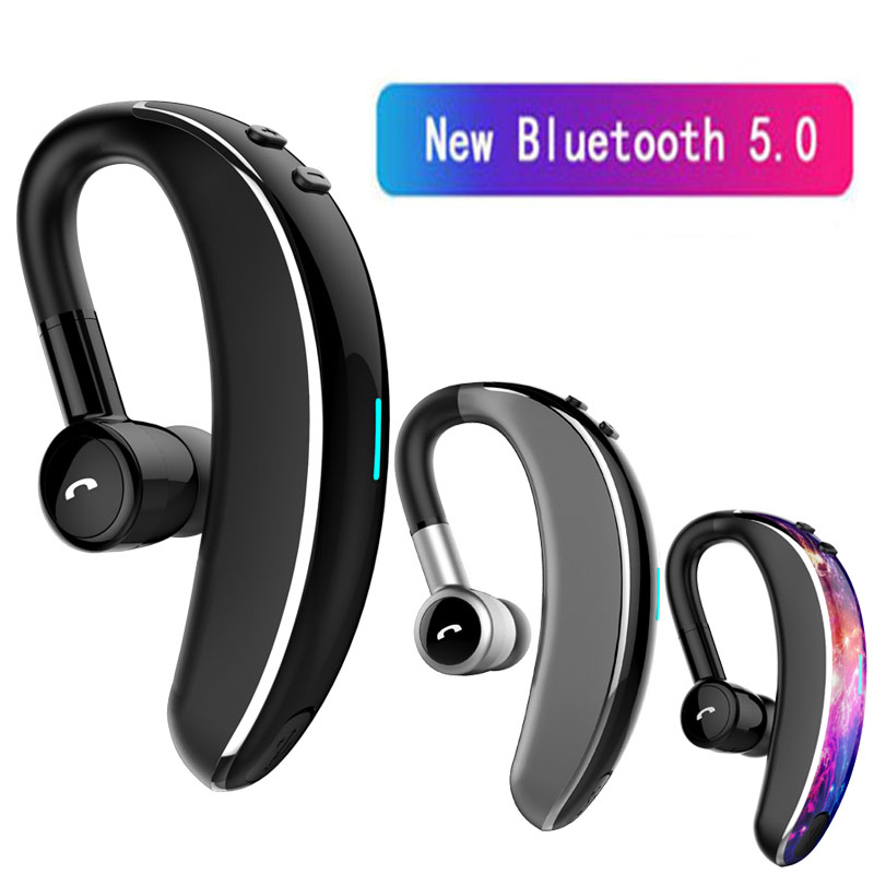 V7 Bluetooth 5.0 Headset Wireless Earphone Headphones With Mic 20 Hrs Talk Time Handsfree Driving Sport For IPhone Huawei Xiaomi