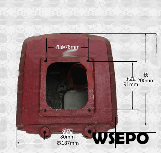 OEM Quality ! Water Tank  for R165/R170 3HP~4HP 4 Stroke Small Water Cooled Diesel EngineOEM Quality ! Water Tank  for R165/R170 3HP~4HP 4 Stroke Small Water Cooled Diesel Engine