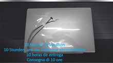Laptop LCD Abdeckung Für Lenovo U330 Touch Modell U330T 90203272 3CLZ5LCLV30 90203271 3CLZ5LCLV90 Grau Rückseitige Abdeckung des Original Neue