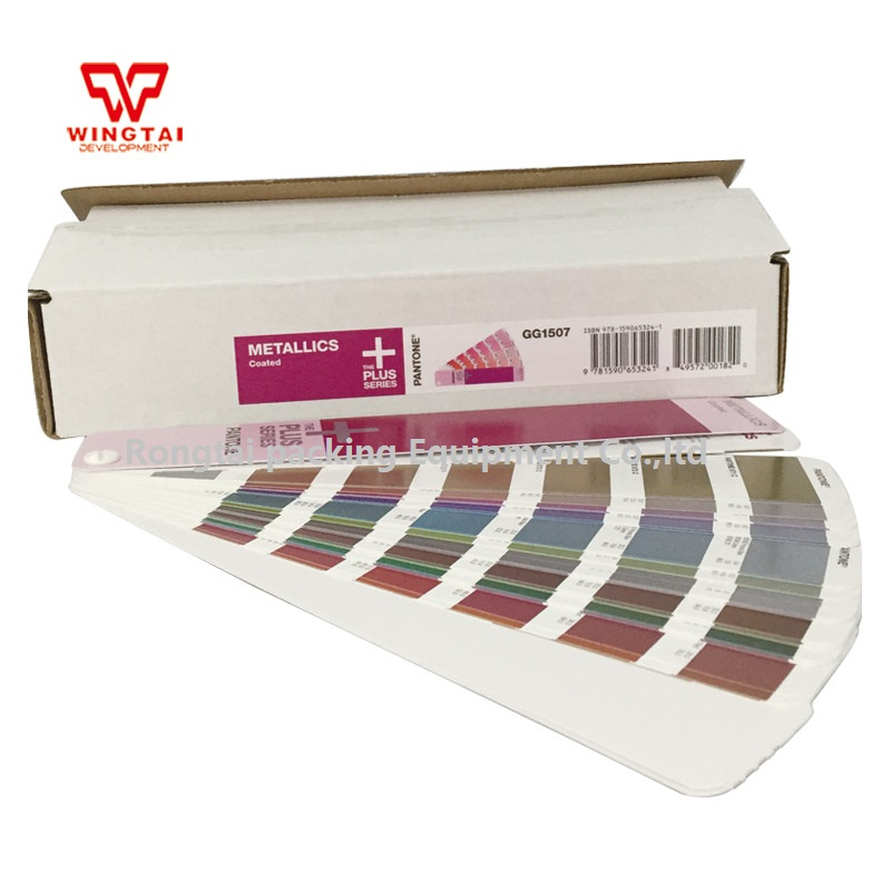 Pantone GG1507 Metallics Coated Color Card цена