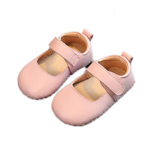 Infant Baby Girls and Boys Soft Sole Cow Leather Shoes Prewalker Anti-Slip Toddler Shoes