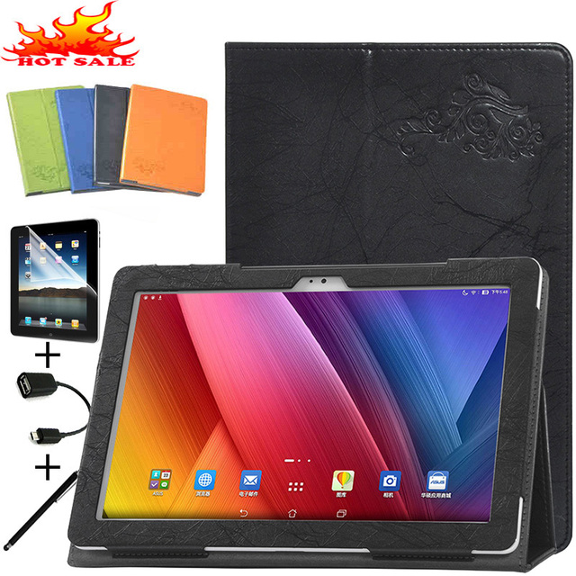 "Original Case Cover For Asus Zenpad 10 Z300 Z300c Z300CL Z300CG 10"" Tablet Leather Stand Flip Cover Shockproof Protective Shell"