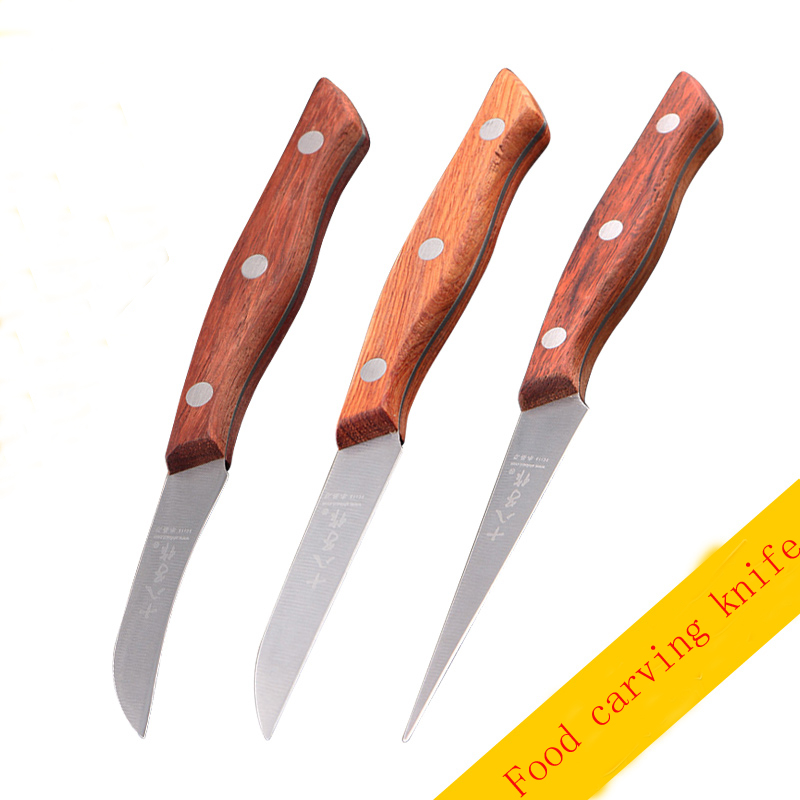 Free shipping shengde chef vegetables fruit carving knife