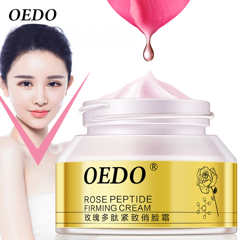 OEDO Rose Peptide Firming Face Slimming Cream Anti Cellulite Cream Weight Loss Products Skin Care Anti-aging wrinkle Cream 55g gold anti wrinkle gel face firming cream moisturizing anti aging skin care products beauty products beauty salon free shipping