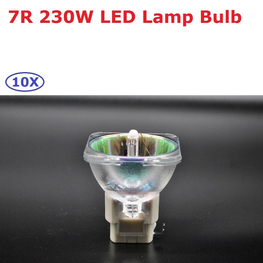 Original 7R Lamp Shapy Beam 7R 230W LAMP Scanner Moving Head Spot Light Bulb Metal Halide 7R Lamps MSD Platinum 7R Halogen Lamp