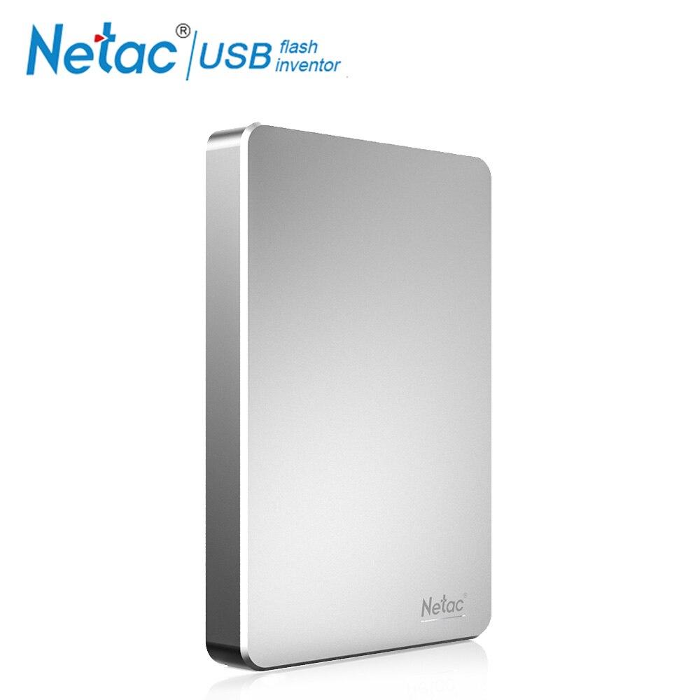 Netac 2.5 Portable External Hard Drive USB 3.0 500GB HDD Expansion 1TB Hard Disk HD Storage Devices For Desktop Laptop PC Mac