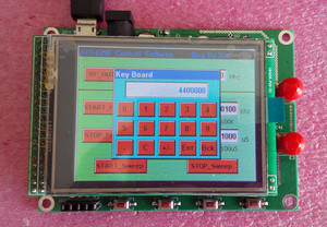 Image 2 - จัดส่งฟรี ADF4350 ADF4351 โมดูล TFT หน้าจอสัมผัสสี STM32 กวาดความถี่สัญญาณ