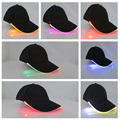 YBZ Bright LED Cap Glow in dark for Reading Fishing Jogging Light up LED Sport Hat Baseball Caps Christmas Luminous Holiday Hats
