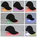 YBZ Cap Bright LED brillan en la noche para la Lectura De Jogging Light up LED Luminoso Deporte Gorras de Béisbol Del Sombrero de Navidad Sombreros De Fiesta