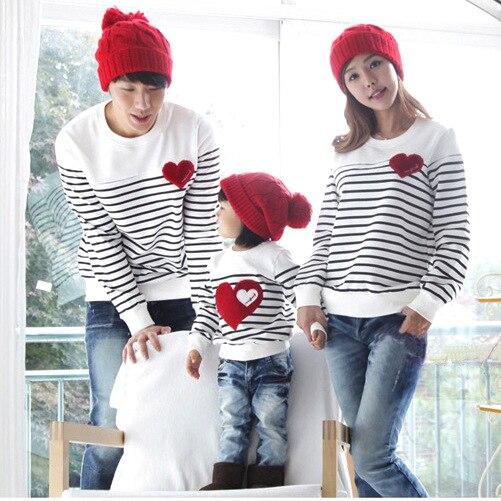 e04375a3e713e Família de moda Outono Inverno Primavera de algodão family pack set  mãe criança roupas