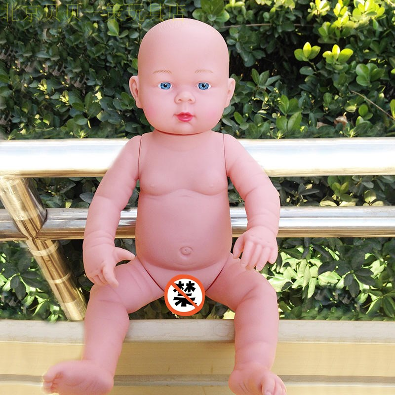 20 inches Naked Baby Reborn Dolls Full Vinyl Doll Kid's Toys Gifts Shower Doll Nanny Tools Baby Doll Mold The gift of the child the naked man