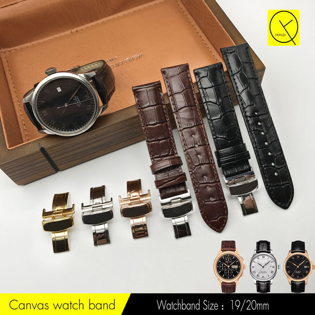 Calf Genuine Leather Watch Band for Tissot T41 PRC200 T055 T067 T086 T085 T109 T