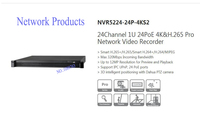 DAHUA 24Channel 1U 24PoE 4K H 265 Pro Network Video Recorder Without Logo NVR5224 24P 4KS2