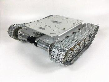 TS100 металлический амортизатор, бак, автомобильный корпус, робот, умный автомобиль, Разберите комплекты