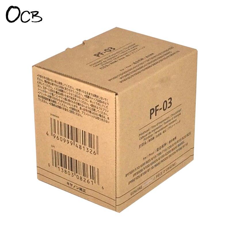Cabeça de Impressão da Cabeça de Impressão Pf03 para Canon Ipf610 Ipf700 Ipf720 Ipf810 Ipf815 Ipf820 Ipf825 Pf-03 Ipf500 Ipf510 Ipf600 Ipf605