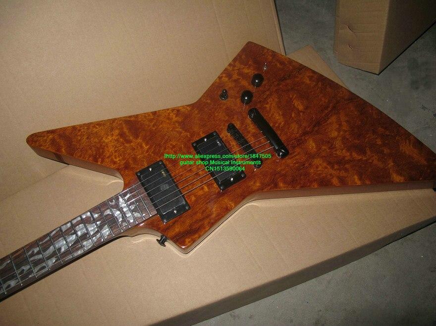 Wholesale Guitars OEM Guitar Newest Style Electric Guitar High Quality Electric Guitar LTD with Light Free Shipping стоимость