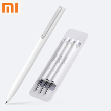 Оригинальные ручки-вывески Xiaomi Mijia, 9,5 мм, черные, гладкие, швейцарские, сменные, MiKuni, японские чернила