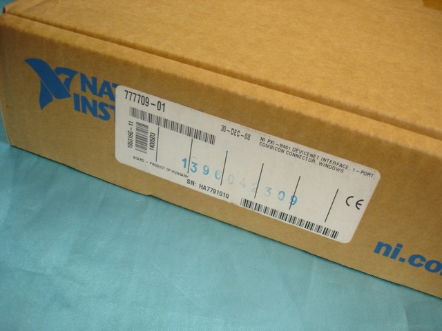 Pour lacquisition de données carte DAQ pour PXI-8461 Port unique Interface PXI DeviceNet