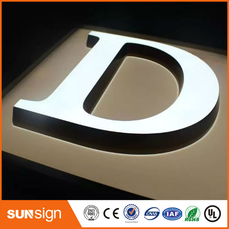 Outdoor Advertising LED Illuminated Sign Letters