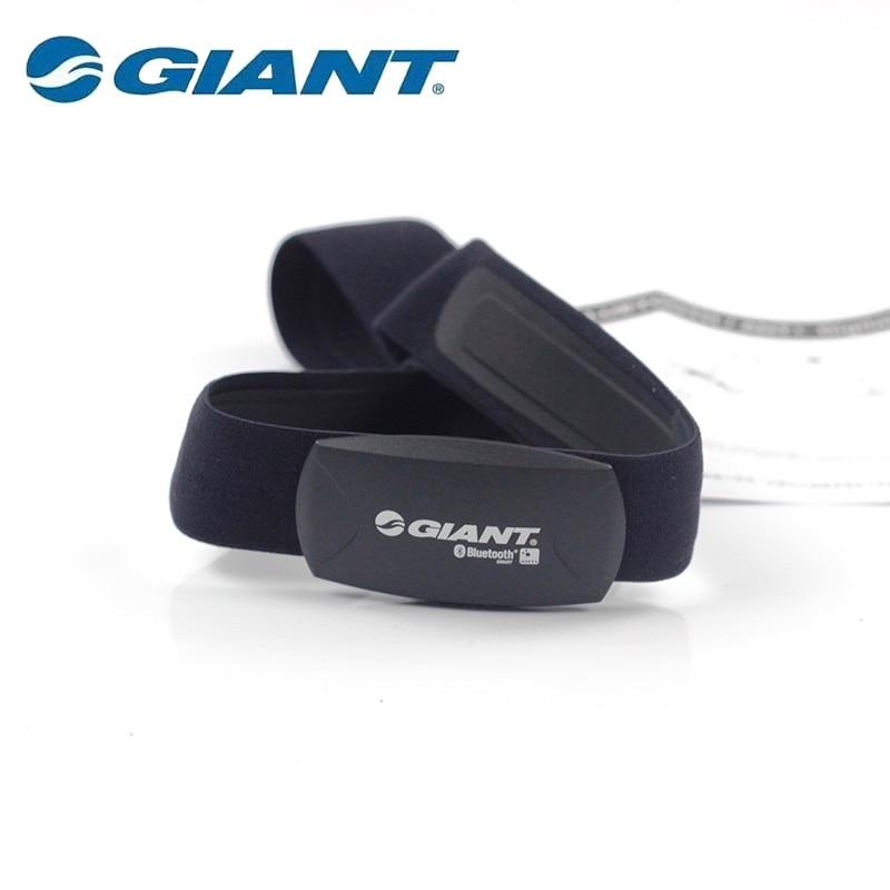 Géant Bluetooth/ANT + ceinture de fréquence cardiaque numérique ordinateur course Sport vélo fréquence cardiaque BLE 2 en 1 ceinture de fréquence cardiaque détachable