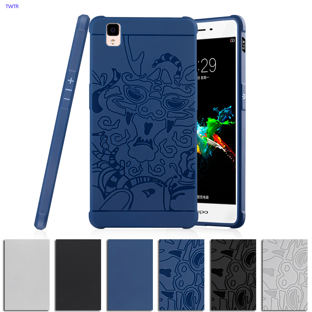 best authentic 64f65 d281a US $6.36 9% OFF TPU Soft for OPPO R7 s Case for Oppo R7s R7sm R7sc R7st  R7sf R7sw 3D Relief Case Phone Back Cover Armor Silicon Protection Cases-in  ...