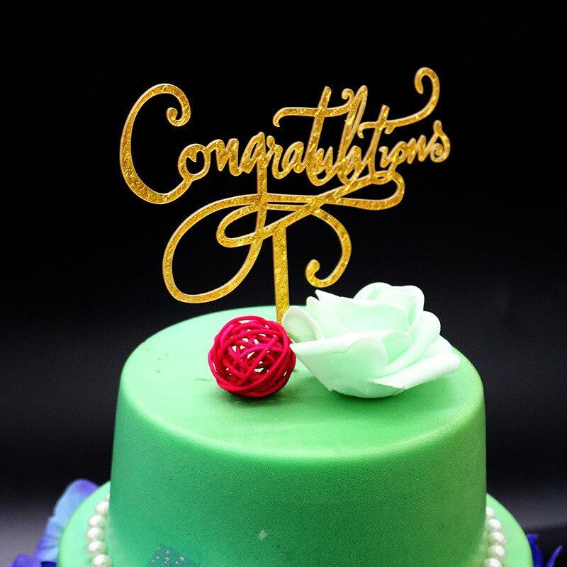 gefeliciteerd met kerst Glitter Gold Gefeliciteerd Cake Topper Bruiloft Kerst Cake Topper  gefeliciteerd met kerst