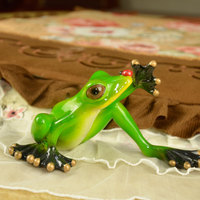 2pcs Lot Resin Frog European Gift Creative Toys Interesting Novelty Wedding Gifts Couple Figurine Creative Products