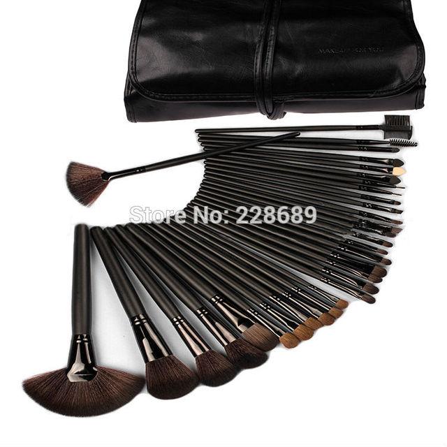 200 sets envío gratis 32 unids durable suave cepillos, maquillaje profesional cepillo cosméticos del maquillaje 2015 nuevo