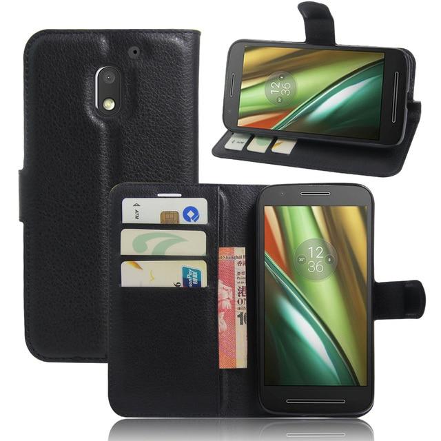 Flip PU Leather Wallet Case for Motorola Moto G G2 G3 E E2 E3 Power X X2 X3 Lux Z Force Play Droid Turbo 2 MAXX G4 G5 Plus Play
