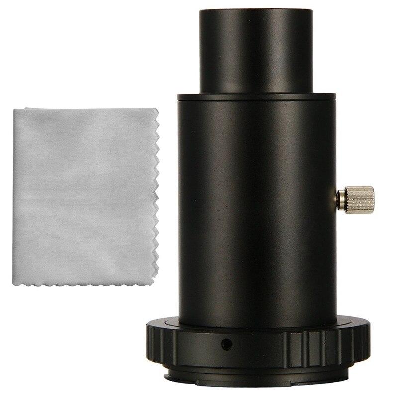 Télescope Caméra Adaptateur 1.25 Extension Tube T Anneau pour Canon EOS Métal