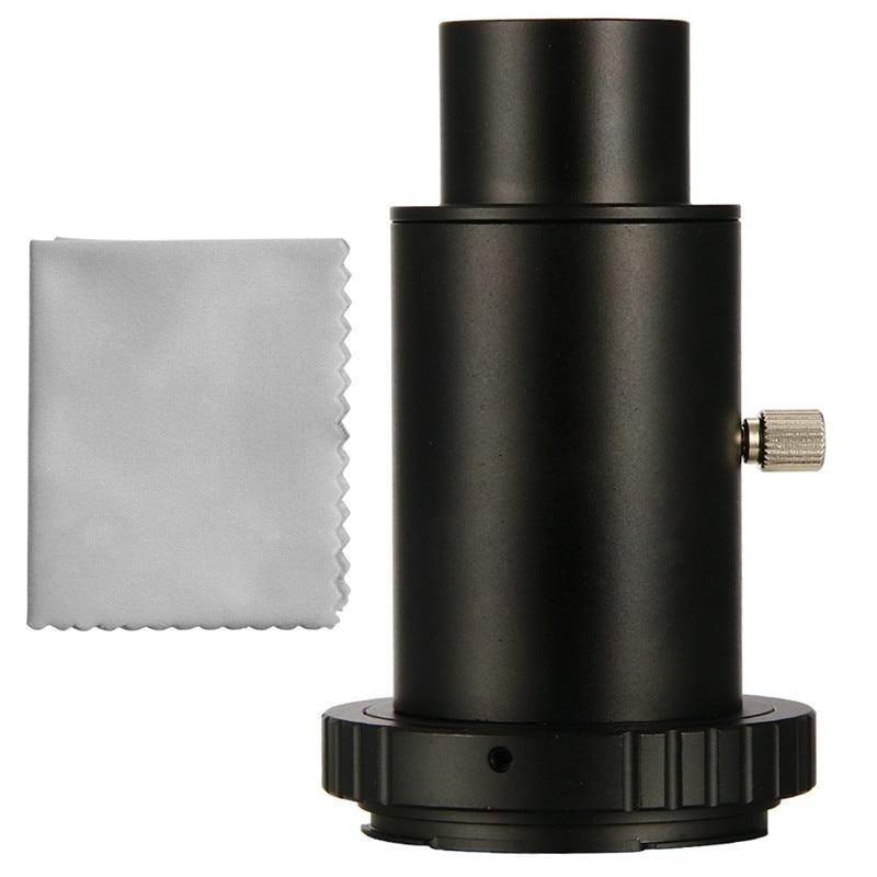 """Adaptador de cámara para telescopio de 1.25 """"Anillo de tubo en T para Canon EOS Metal"""