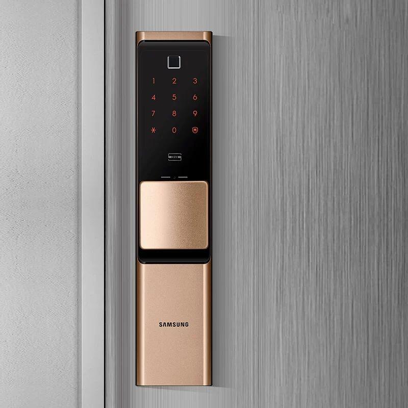 2019 NEUE SAMSUNG Fingerprint Digital Wifi Türschloss IoT Keyless SHP DR719 Große Moritse - 4