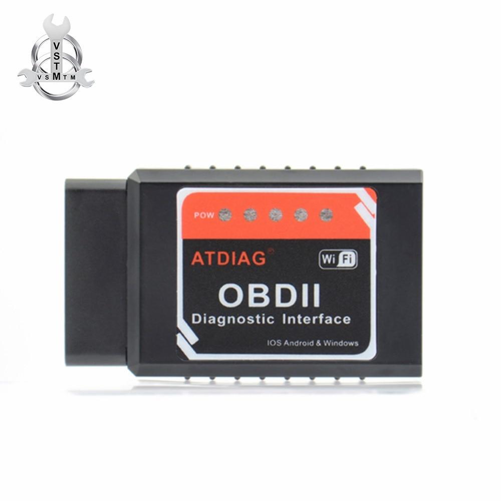 US $7 45 |Universal OBD2 WIFI ELM327 V 1 5 Scanner for iPhone IOS Auto  OBDII Scan Tool OBD 2 ODB II ELM 327 V1 5 WI FI ODB2 -in Code Readers &  Scan