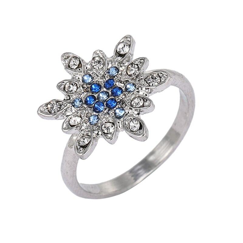 Модные плетеные кольца с кристаллами для женщин, золото/серебро/розовое золото, тонкое женское кольцо, вечерние ювелирные изделия для помолвки - Цвет основного камня: RG019