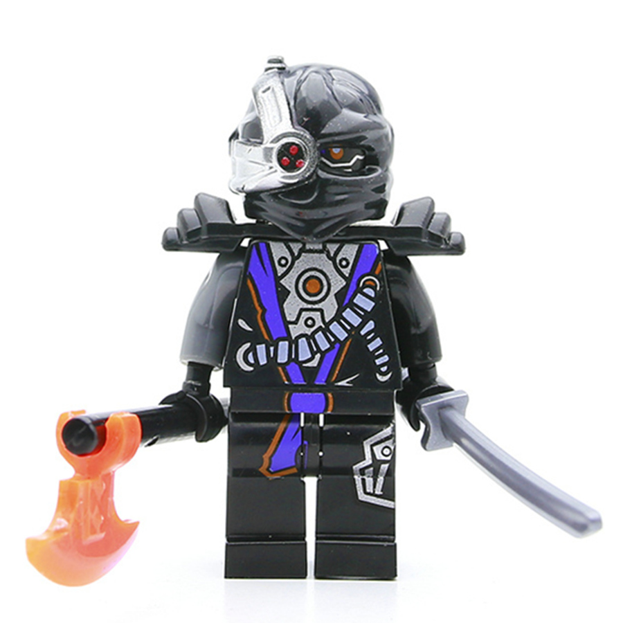 Single Sale General Cryptor Kai Jay Cole Phantom Ninja Masters Minifig Assemble Building Blocks Kids Children Toys Gifts