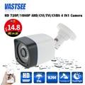 De Seguridad CCTV 720 P AHD Cámara 4 en 1 Cámara de La bala 1080 P opción IP66Outdoor OV sensor Impermeable de Vigilancia de Vídeo Visión nocturna